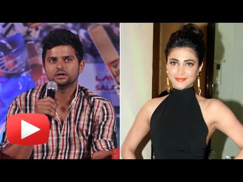 Shruti Haasan and Suresh Raina Dating - Suresh Raina REACTS