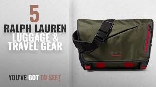 Top 10 Ralph Lauren Luggage & Travel Gear [2018]: Polo Ralph Lauren Mens Sport Front Flap Crossbody