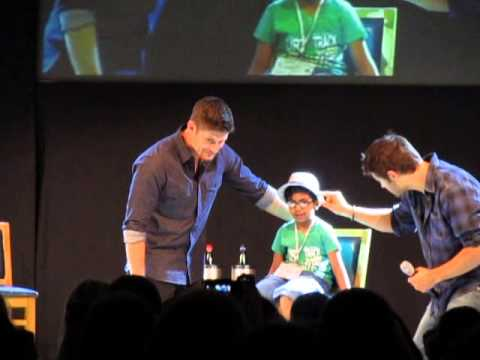 JIB4 Supernatural Con in Rome 2013 - Jensen and Misha Panel PART 1