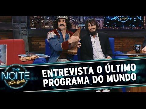 The Noite 18/07/14 (parte 1) - Entrevista O Último Programa do Mundo