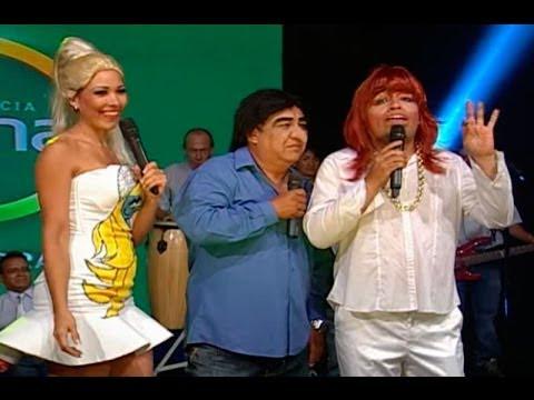Maskaly Metida y Laura Huancayo presentan a Chicharrón Serrano