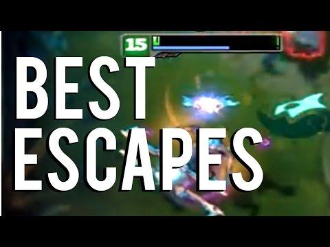 Best League Of Legends Escapes | Montage 2014-2015 Vol.2