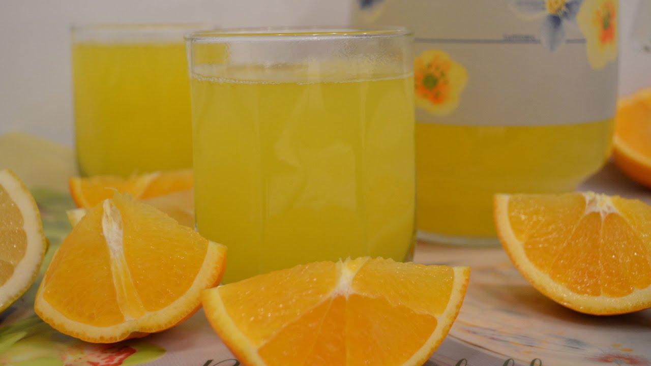 Как сделать напиток из апельсинов в домашних условиях 210