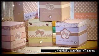 Paper Bag Tutorial ..... scatolina handmade