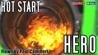 JET ENGINE HOT START HERO ! (PAUL CAMILLERI: FAST Jet Engine Change AND Show Flight)