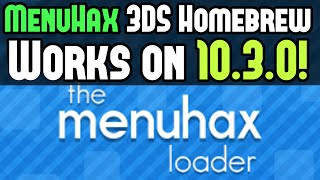 [MenuHax] 10.3.0.-28 Install MenuHax for 3DS Homebrew on 10.3