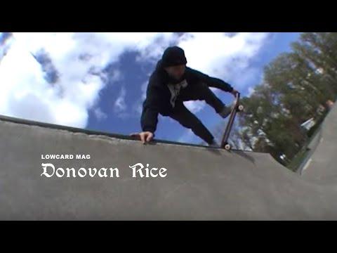 Donovan Rice Pro Part