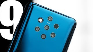 Nokia 9 hands-on: 5 cameras for €599!
