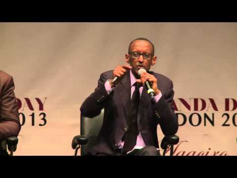President Kagame at Rwanda Day London 2013- 18 May 2013, Part 2/3