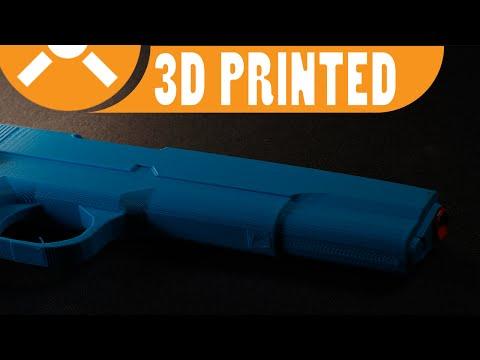 3D Print Lab - Colt 1911 [Non-functional]