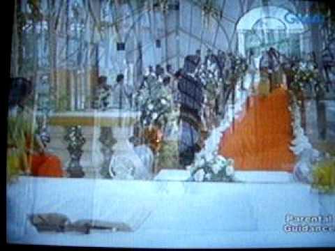 Ang Babaeng Hinugot Sa Aking Tadyang - *Almost* Wedding Scene =)