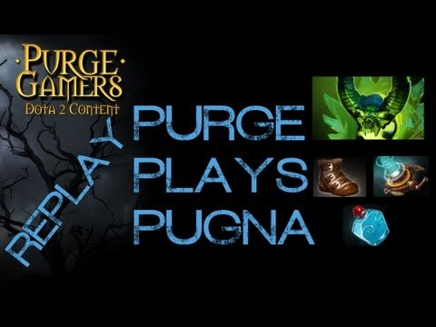 Dota 2 Purge plays Pugna