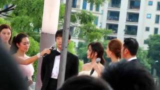 [FANCAM] 111129 MAMA red carpet - Park Si Hoo