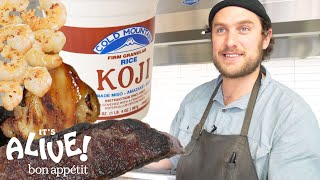 Brad Uses Moldy Rice (Koji) to Make Food Delicious | It