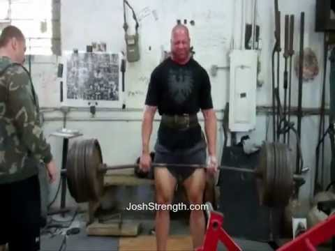 Matt Lehr deadlift training with Josh Bryant at Metroflex Gym Image 1