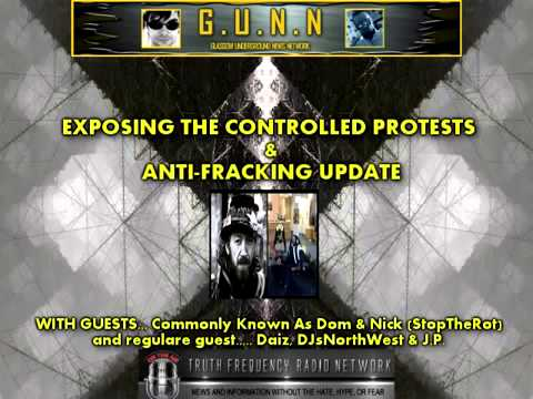 Commonly known as Dom on the march to Parliament & LIVE Barton Moss update GUNN