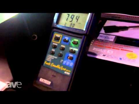 InfoComm 2013: Wavien Demos LED Technology Brightness