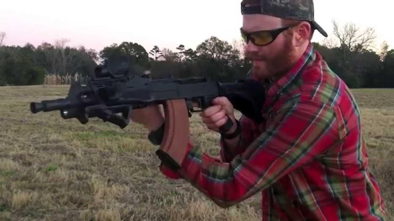 Century Arms C39 Stock Testing Century Arms C39