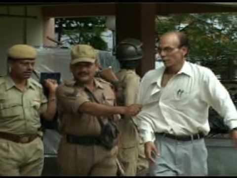 Assam police and CRPF on duty on 14/05/2009 in Jorhat, Assam, India part2