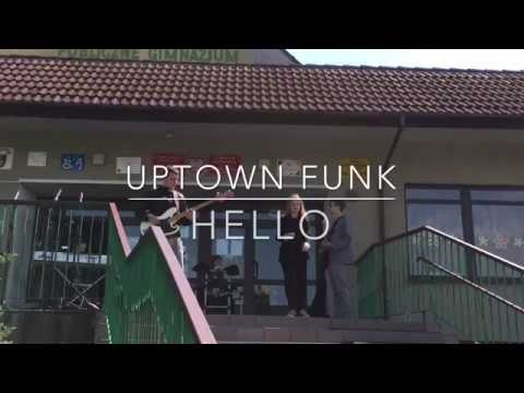Uptown Funk - Mark Ronson ft. Bruno Mars (Hello cover) - live