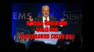 Nevada Governor Begs For Background Check Bill