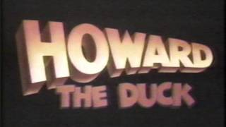 Howard the Duck Orginal Movie Trailer