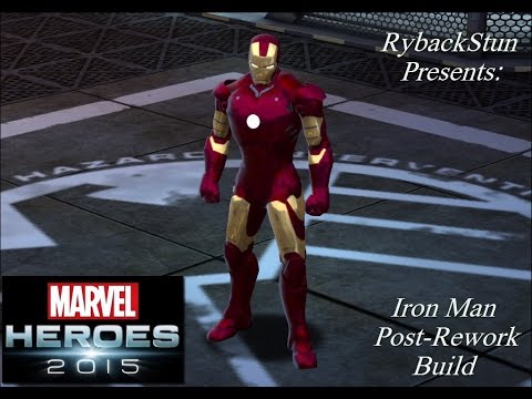 Marvel Heroes: Iron Man Post-Rework Build