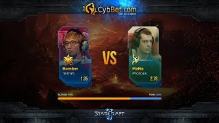 StarCraft 2 LotV Cybbet Race Wars 2016 Day 2 Match 2: Bomber vs MaNa