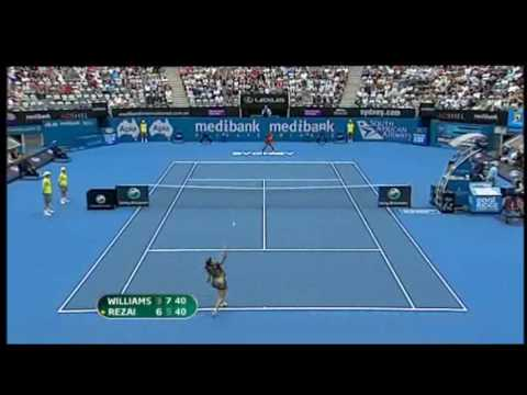 Serena Williams vs Aravane Rezai 2010 Highlights Video