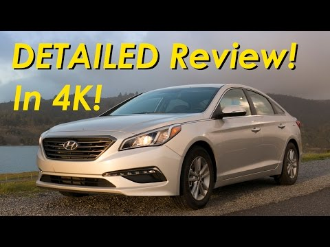2015 Hyundai Sonata Eco Detailed Review And Road Test - In 4k video