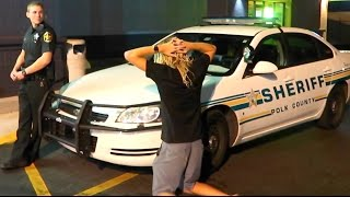 COPS CALLED AT TRAMPOLINE PARK!! *Overnight Challenge* | JOOGSQUAD PPJT