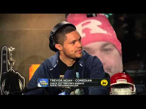The Artie Lange Show - Trevor Noah (Part #2) - In The Studio