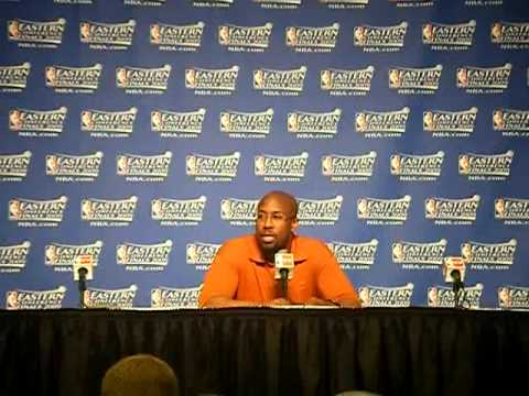 Mike Brown Interview, Game 2 - Cleveland Cavaliers vs. Orlando Magic