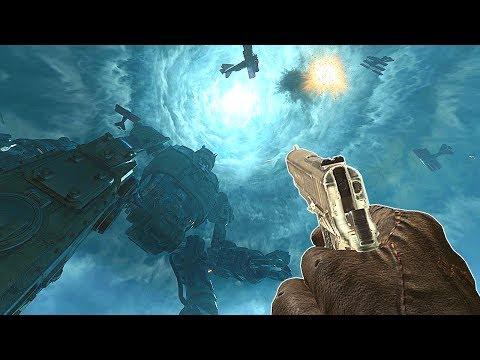 ORIGINS w/ BO1 GUNS! SLIGHTLY BETTER? Call of Duty Black Ops 3 Zombies Chronicles Gameplay