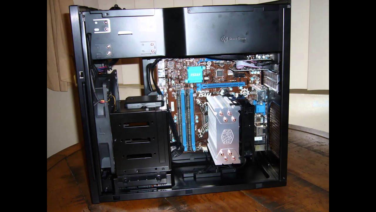 Silverstone Tj08 E Evolution Case Computer Build Youtube