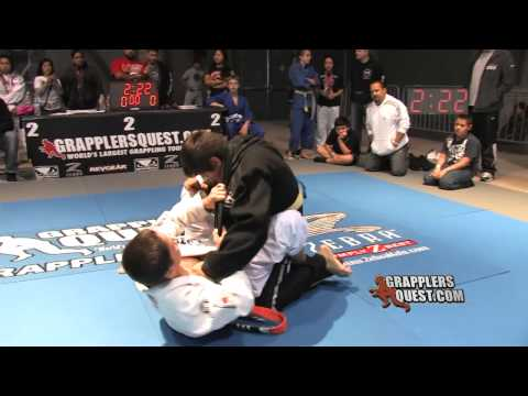 SUBMISSION: Jean-Paul LeBosnoyani vs John Verdera Grapplers Quest Las Vegas 2011 Grappling Action