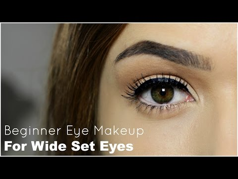 Beginner Eye Makeup For Wide Set Eye