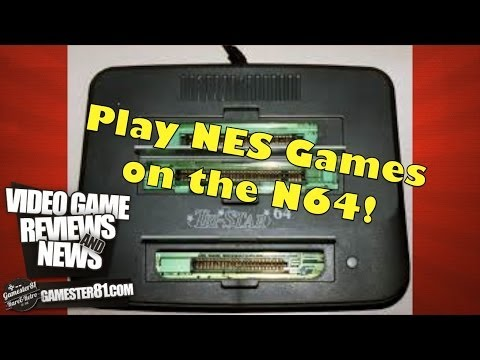 N64 Tristar 64 System Review (Play NES games on the N64)-Gamester81
