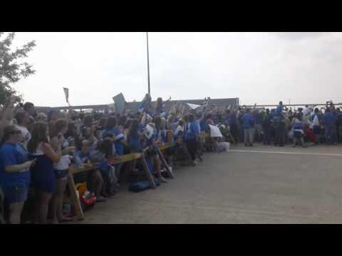 Kentucky Wildcats Land at Blue Grass Airport - 2012 National Champions