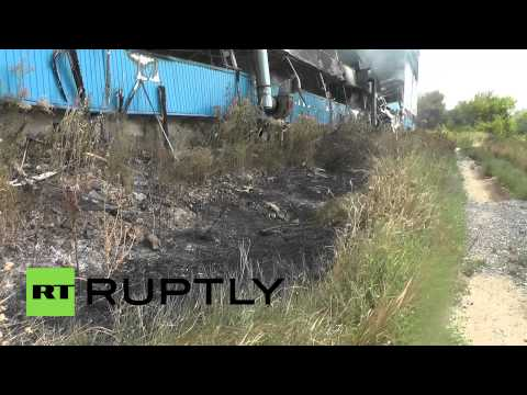 Ukraine: Pioneering printing house wiped out by shelling in Donetsk