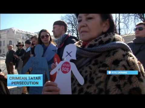 Crimean Tatar Prosecution: Kyiv protest highlights Russian authorities drive to 'silence' Tatars