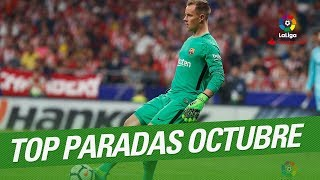 TOP Saves October LaLiga Santander 2017/2018