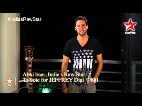 India's Raw Star: Vote for Raw Star Jeffrey!