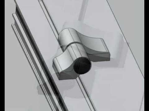 Regulacja docisku drzwi balkonowych