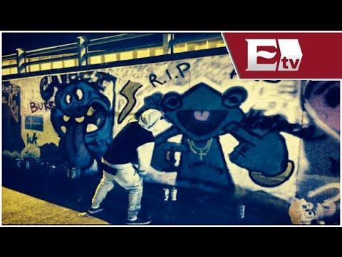 El cantante Justin Bieber llena de grafitis un túnel de Bogotá/Función con Joanna Vegabiestro