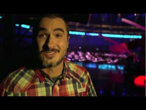 Zane Lowe Tours the 2013 BRIT Awards Stage