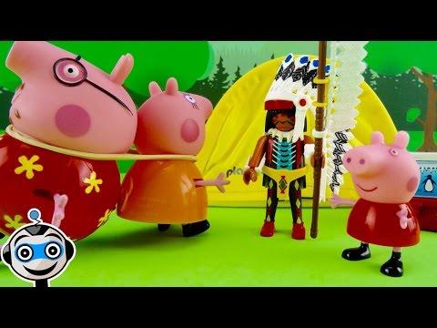 Los indios capturan a Papá y Mamá Pig thumbnail