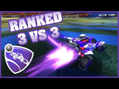 Rocket League - RANKED 3vs3 - LA JUNGLE DU SOLO STANDARD !