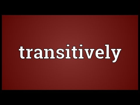 Header of transitively