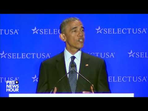 President Obama: U.S. is 'open for business'